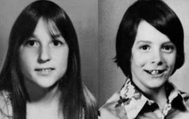 Pictures of two children killed by The Babysitter