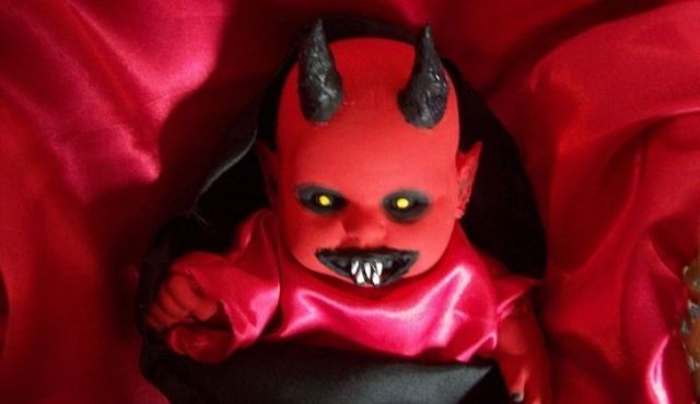 a devil baby doll