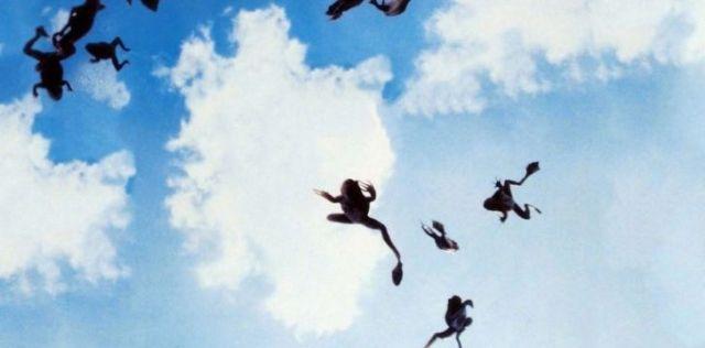 Frogs falling from heaven