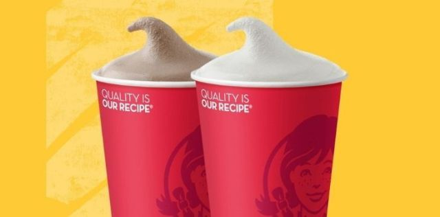 Two Wendy's Frostys