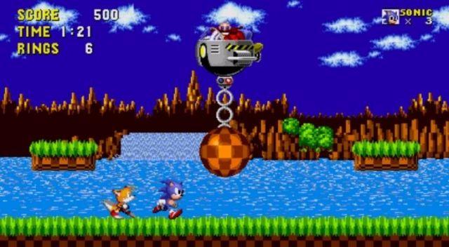 Sonic The Hedgehog on Sega