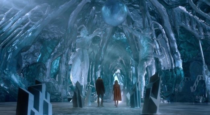 The magical looking fortress of solitude