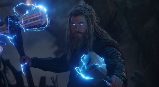Thor's brother with dreadlocks and blue eyes