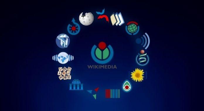 The Wikimedia logo
