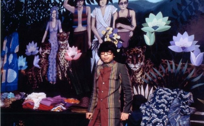 Kenzo Takada in his younger years in Paris