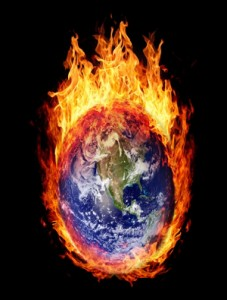 bigstock-Burning-globe-earth-west-hemi-38548153