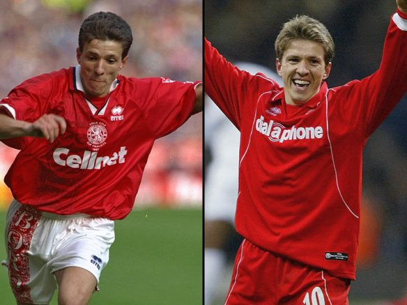 Juninho, A Brazilian Number 10 in Middlesbrough by Mike