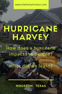 Hurricane Harvey Hits Houston - dry privilege, survivor guilt, and driving to Houston to help. Have you been through a natural disaster before?