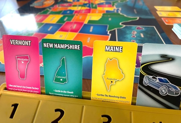 10 Days in the USA cards: Vermont, New Hampshire, Maine