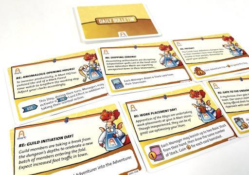Daily Bulletin cards