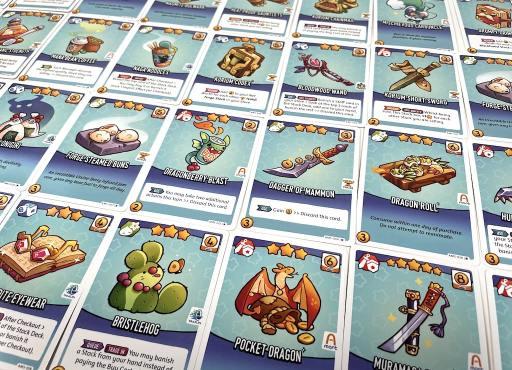 Adventure Mart stock cards
