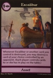 Excalibur card