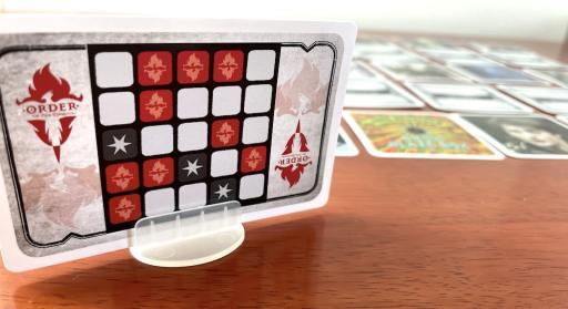 key clue card