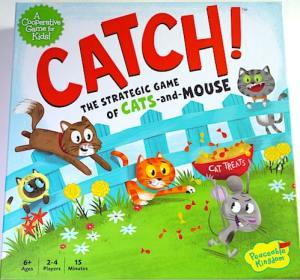 Catch! The Strategic Game of Cats and Mouse