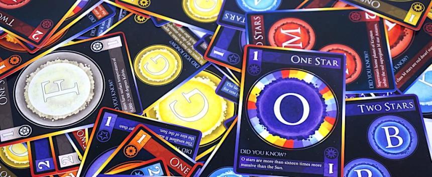 Star cards: O, G, M, B, etc.