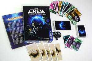 The Crew game box and components