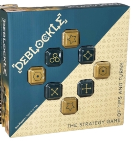 Deblockle: The Strategy Game of Tips and Turns