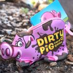 Dirty Pig case sitting in dirt