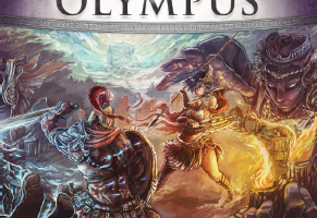 Fight for Olympus Cover