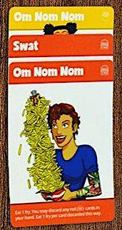 Fry Thief cards: Om Nom Nom, Swat