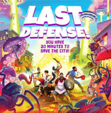 Funko Games: Last Defense box