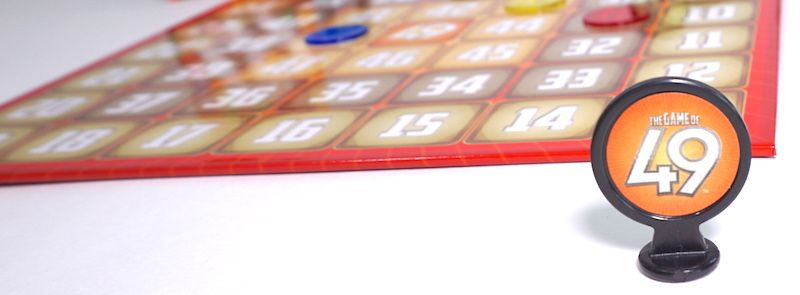 49 marker against gameboard