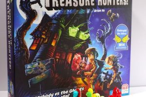 game box: Ghost Fightin Treasure Hunters.