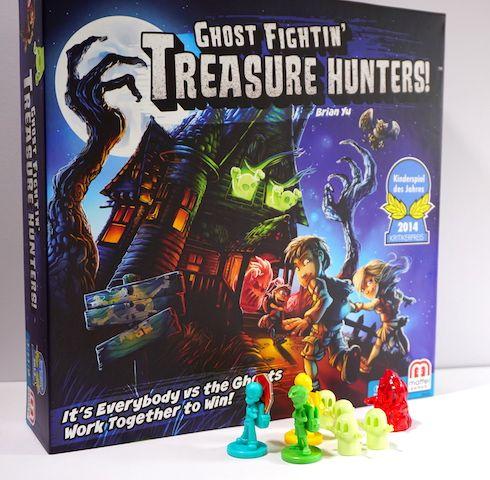 game box: Ghost Fightin Treasure Hunters.
