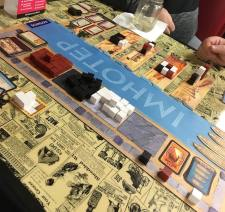 Imhotep with playmat