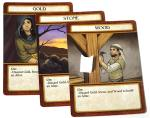 3 cards: Gold, Stone, Wood