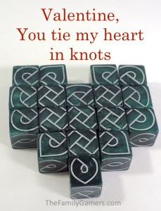 Valentine, you tie my heart in knots