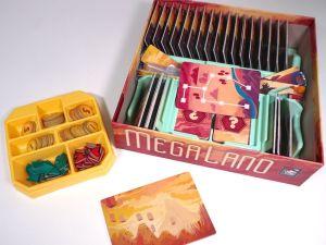 MegaLand with Game Trayz organizer