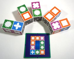 Match Madness blocks and card