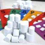 Marshmallow tokens and cards