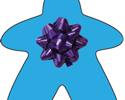 Meeple with a bow
