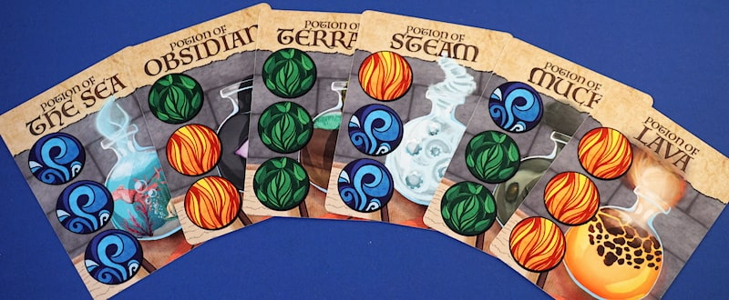 Potions Class game - potions