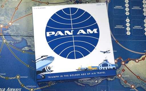 Pan Am game box