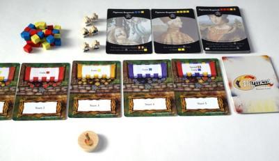 Pigment game setup