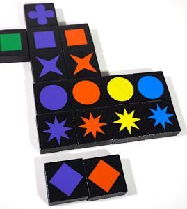 Qwirkle - put 6th purple tile in a column