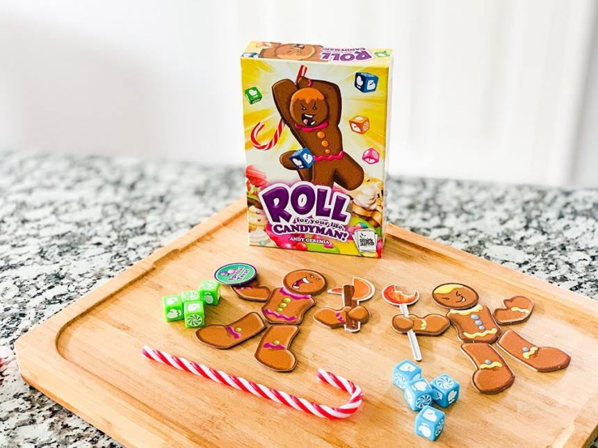 Roll for your Life Candyman game