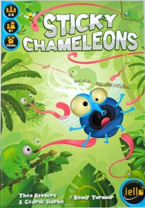 Sticky Chameleons box