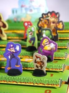 Super Mario Level Up game board