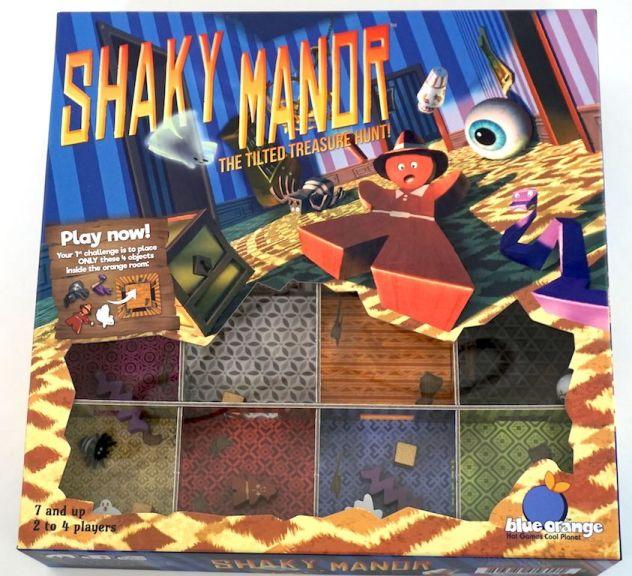Shaky Manor: The Tilted Treasure Hunt
