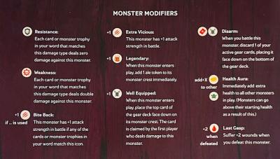 Spell Smashers monster modifiers