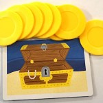 treasure chest and coins