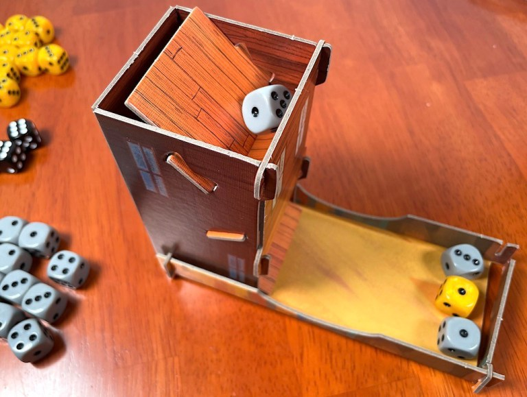 Tumble Town dice tower