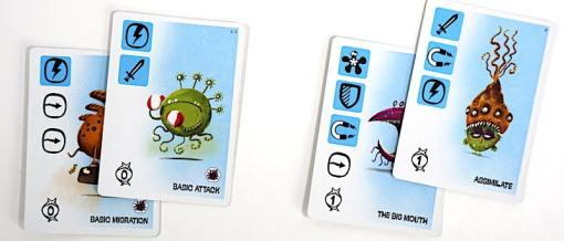 Viral - Mutation cards