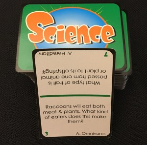 Wise Alec Science card