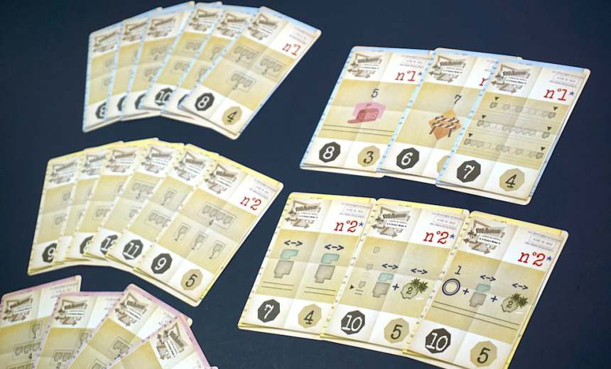 City Plan cards with the advanced cards