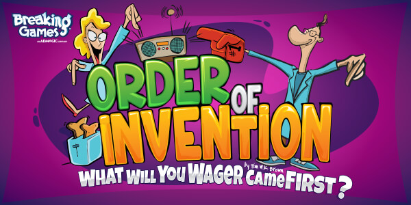 Breaking Games: Order of Invention